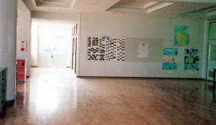 オープンスペースと教室